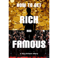 How to Get Rich and Famous - paperback book